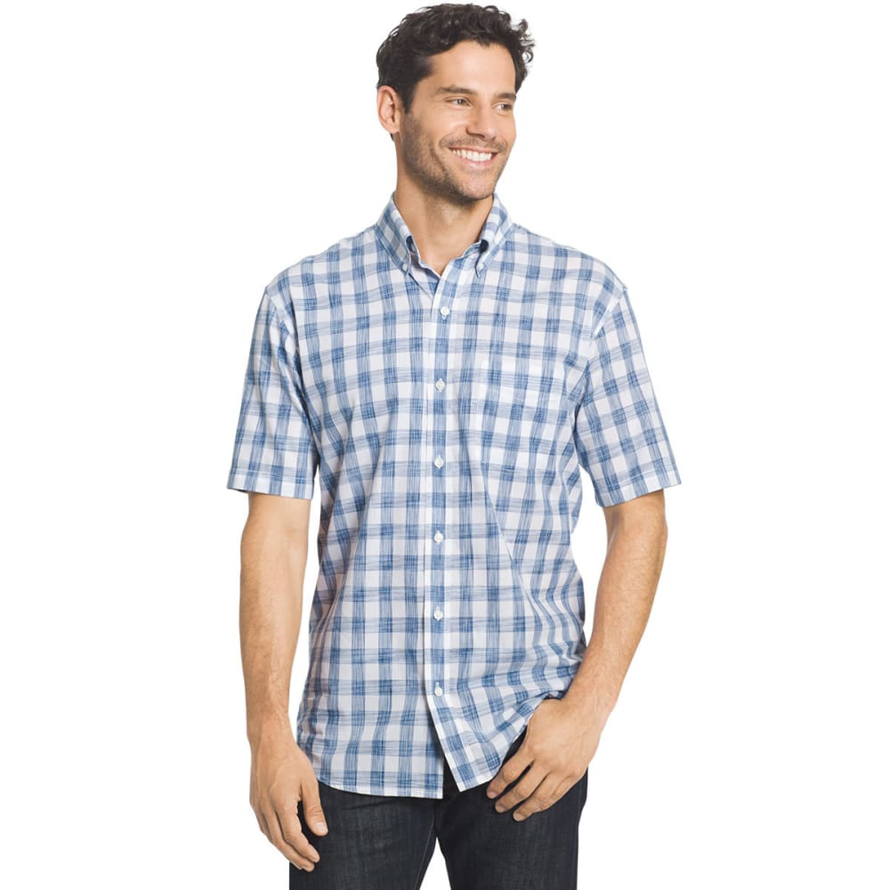 ARROW Men's Coastal Cove Short-Sleeve Shirt - QUIET HARBOR-469
