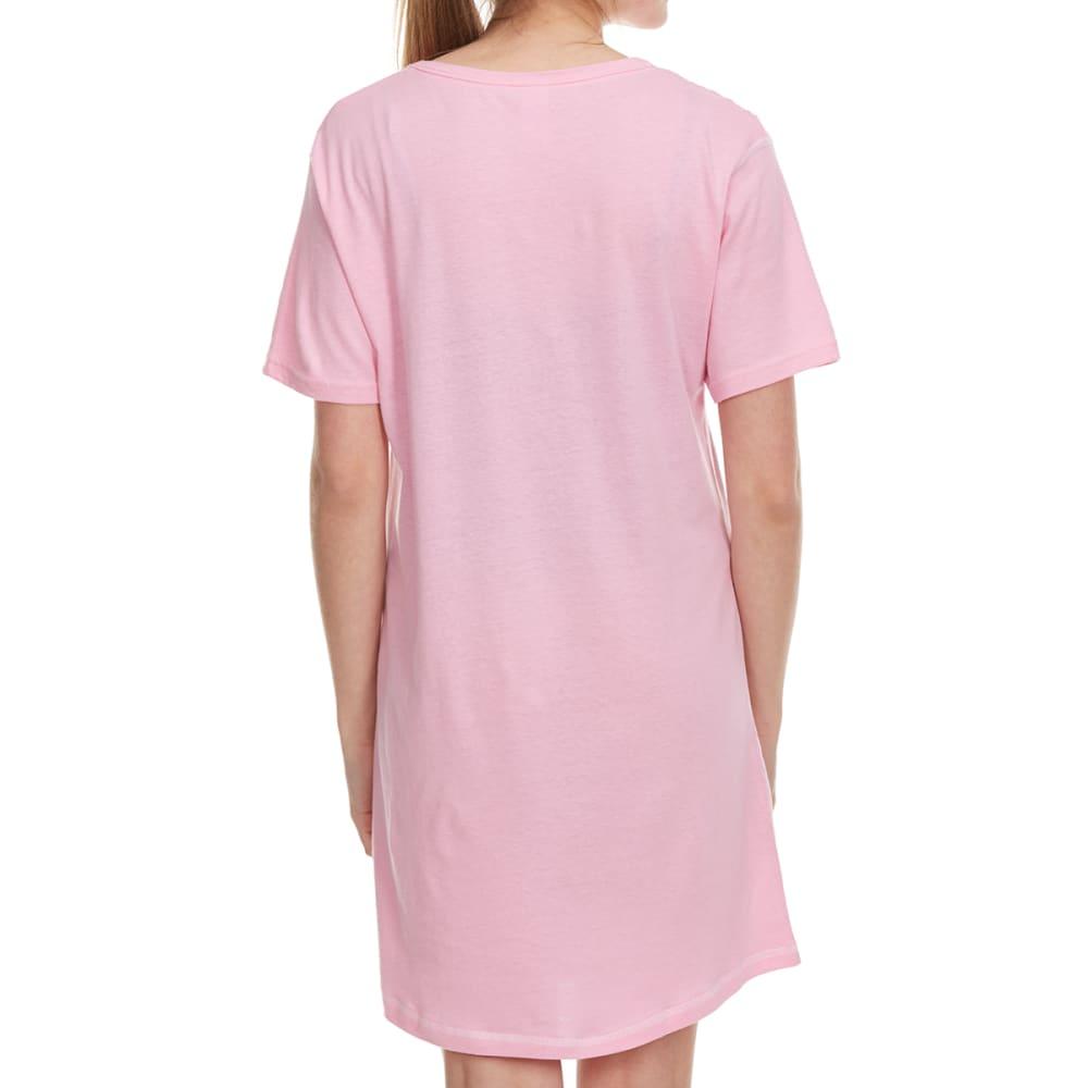 PANTIES PLUS Women's I Do What I Want Sleep Shirt - PINK