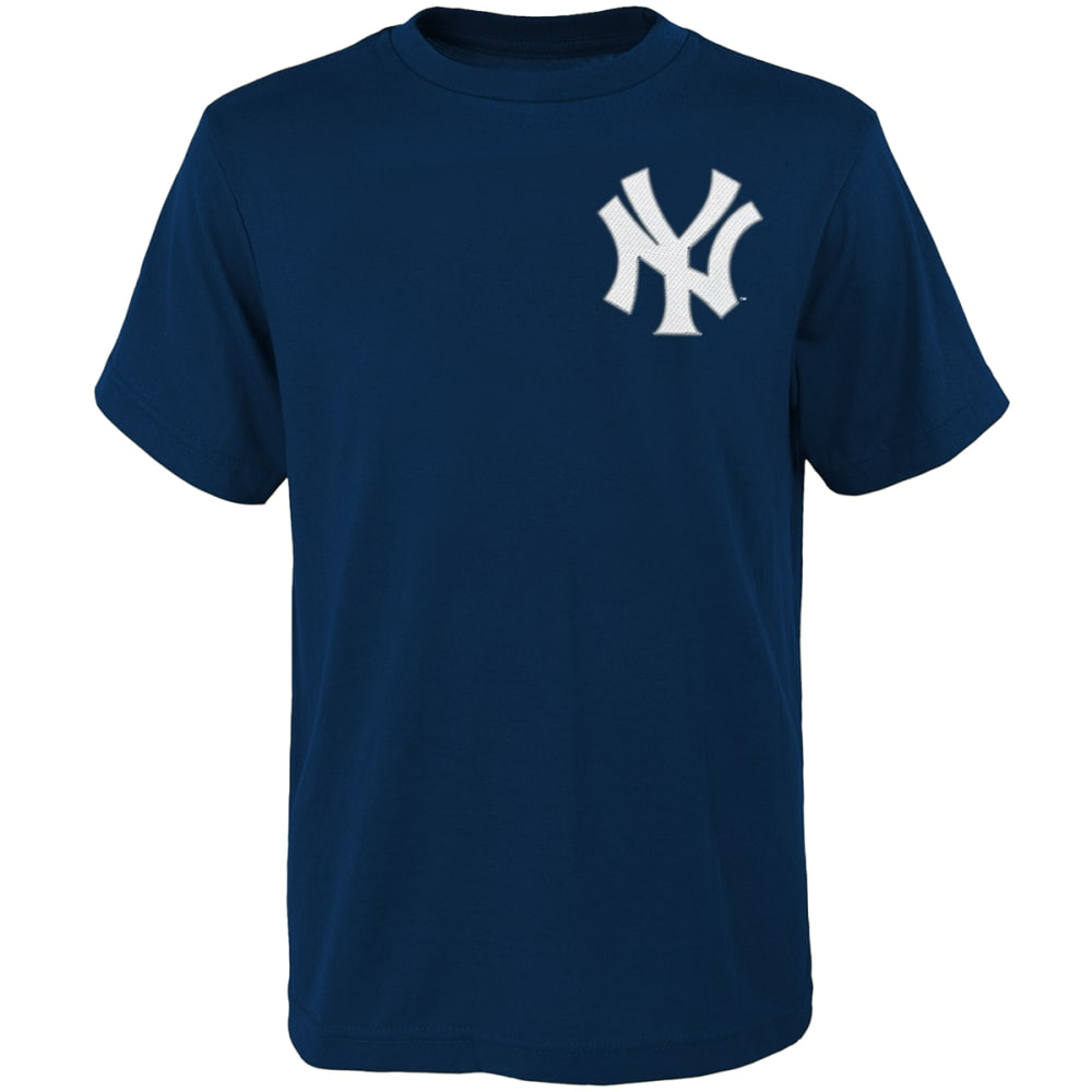 NEW YORK YANKEES Boys' Gary Sanchez #24 Short Sleeve Tee - NAVY