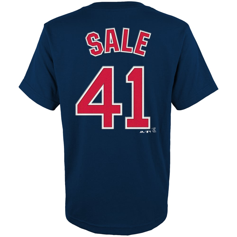 BOSTON RED SOX Boys' Sale #41 Short Sleeve Tee - NAVY