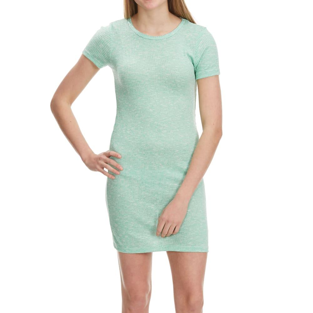 POOF Juniors' Short-Sleeve T-Shirt Dress - MINT