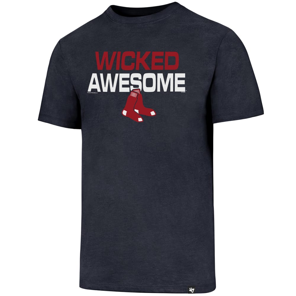 BOSTON RED SOX Men's '47 Wicked Awesome Short-Sleeve Tee S