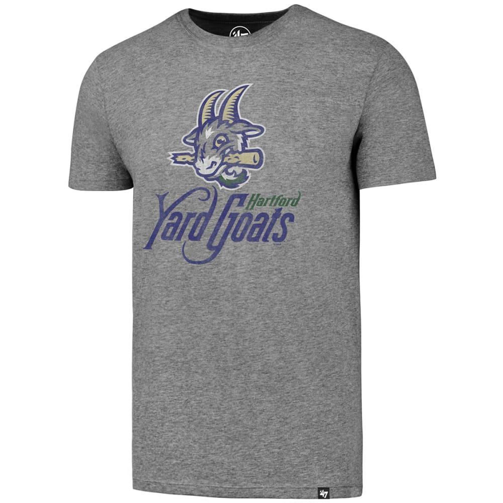 HARTFORD YARD GOATS Men's '47 Club Short-Sleeve Tee, Gray - SLATE GREY