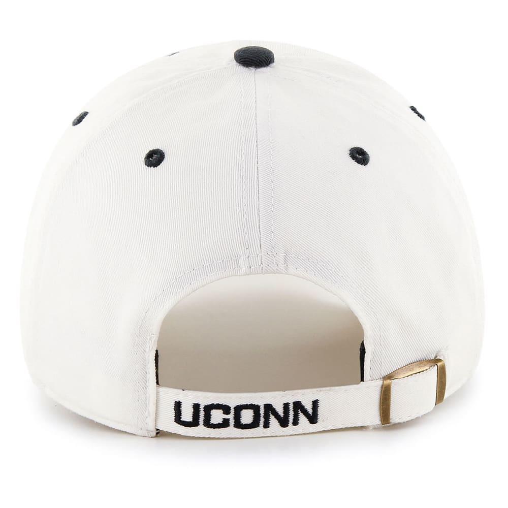 UCONN Men's Ice '47 Clean Up Dog Adjustable Hat - WHITE