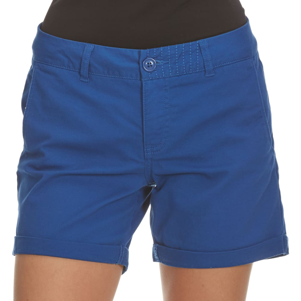 ROYALTY Women's 5 in. Twill Shorts - NATURAL BLUE