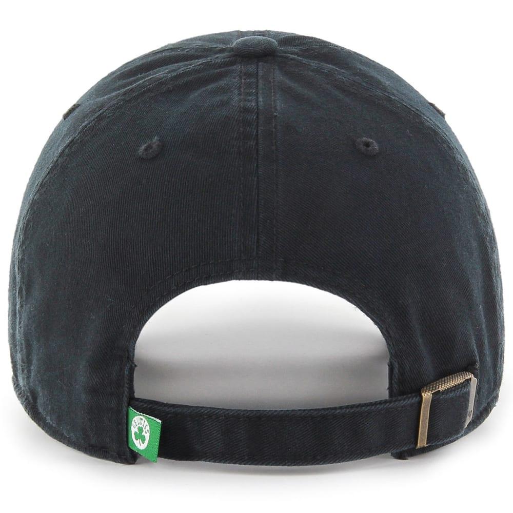 BOSTON CELTICS Men's '47 Clean Up Adjustable Hat, Black - BLACK