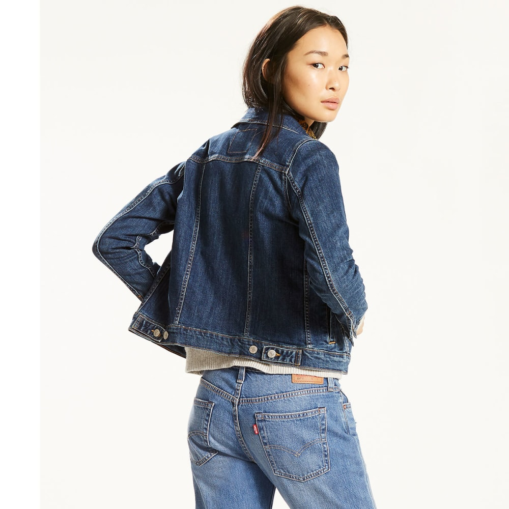 LEVI'S Women's Original Trucker Jacket - 0014-SWEET JANE