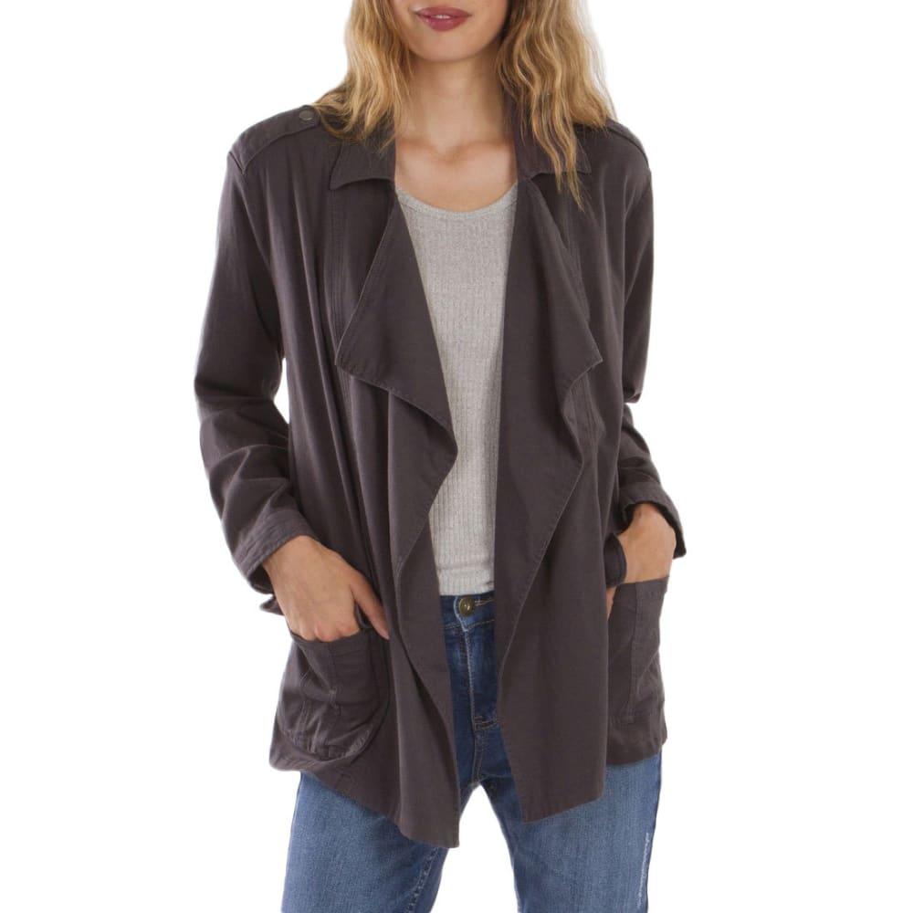 SUPPLIES BY UNIONBAY Women's Tania Swing Jacket - 039J-GALAXY GREY