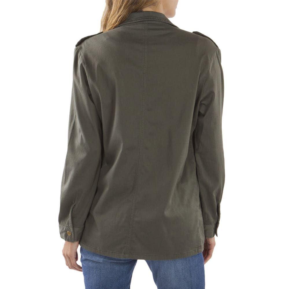 SUPPLIES BY UNIONBAY Women's Tania Swing Jacket - 339J-FATIGUE