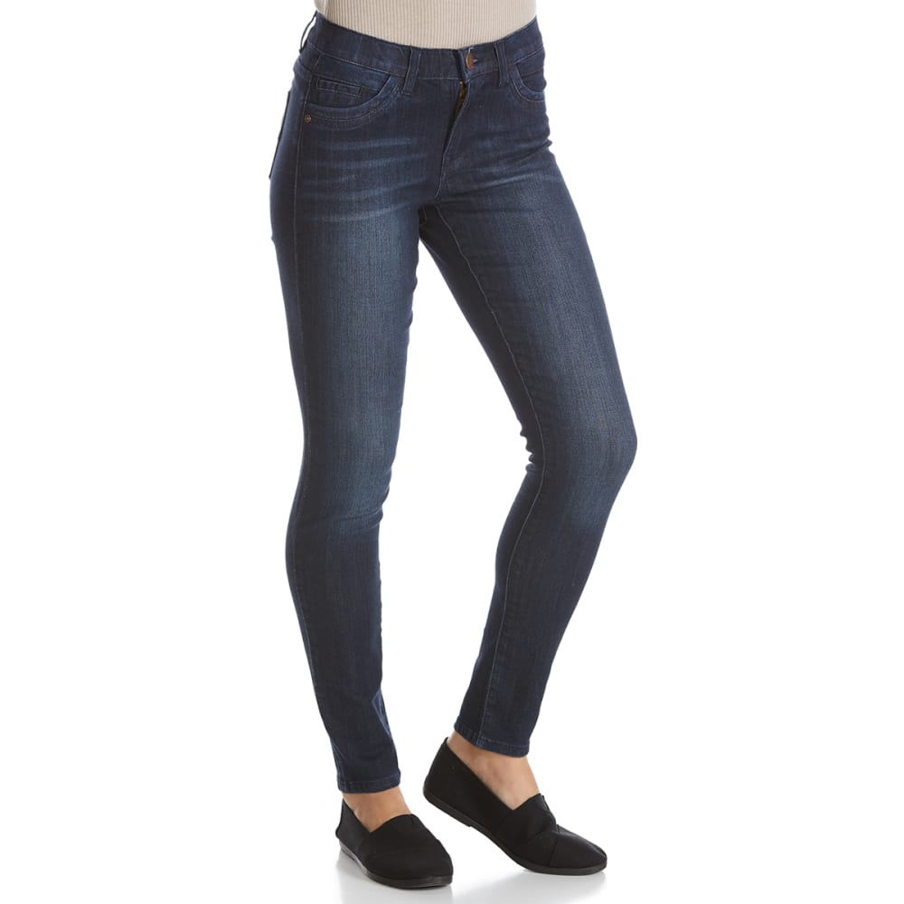 SUPPLIES BY UNIONBAY Women's Lorraine Skinny Jeans - 478J-NIGHT WASH