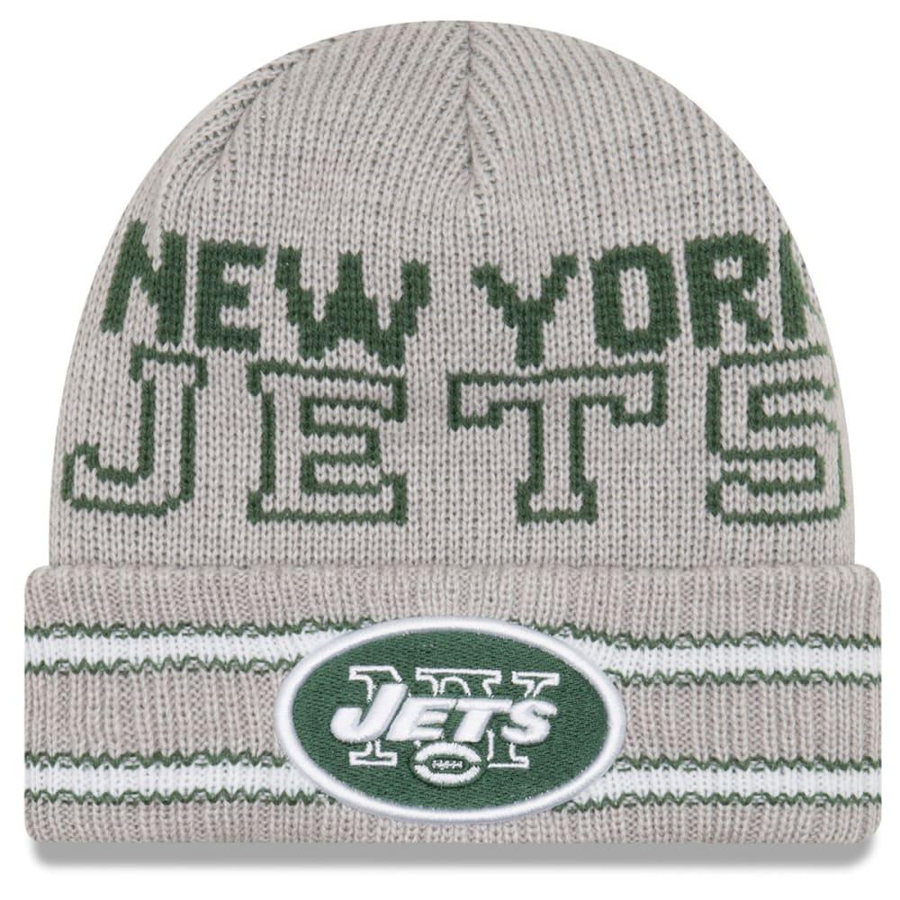 NEW YORK JETS Crisp and Cozy Cuffed Beanie - GREY