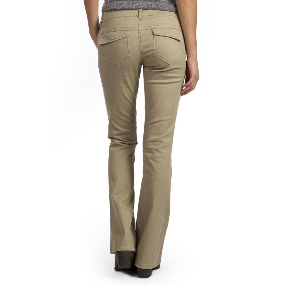 UNIONBAY Juniors' Heather Uniform Bootcut Pants - 226J-SUNTAN