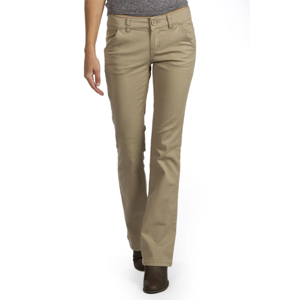 UNIONBAY Juniors' Heather Uniform Bootcut Pants 0