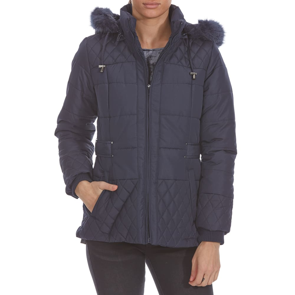DETAILS Women's Puffer Jacket - STORMY NIGHT