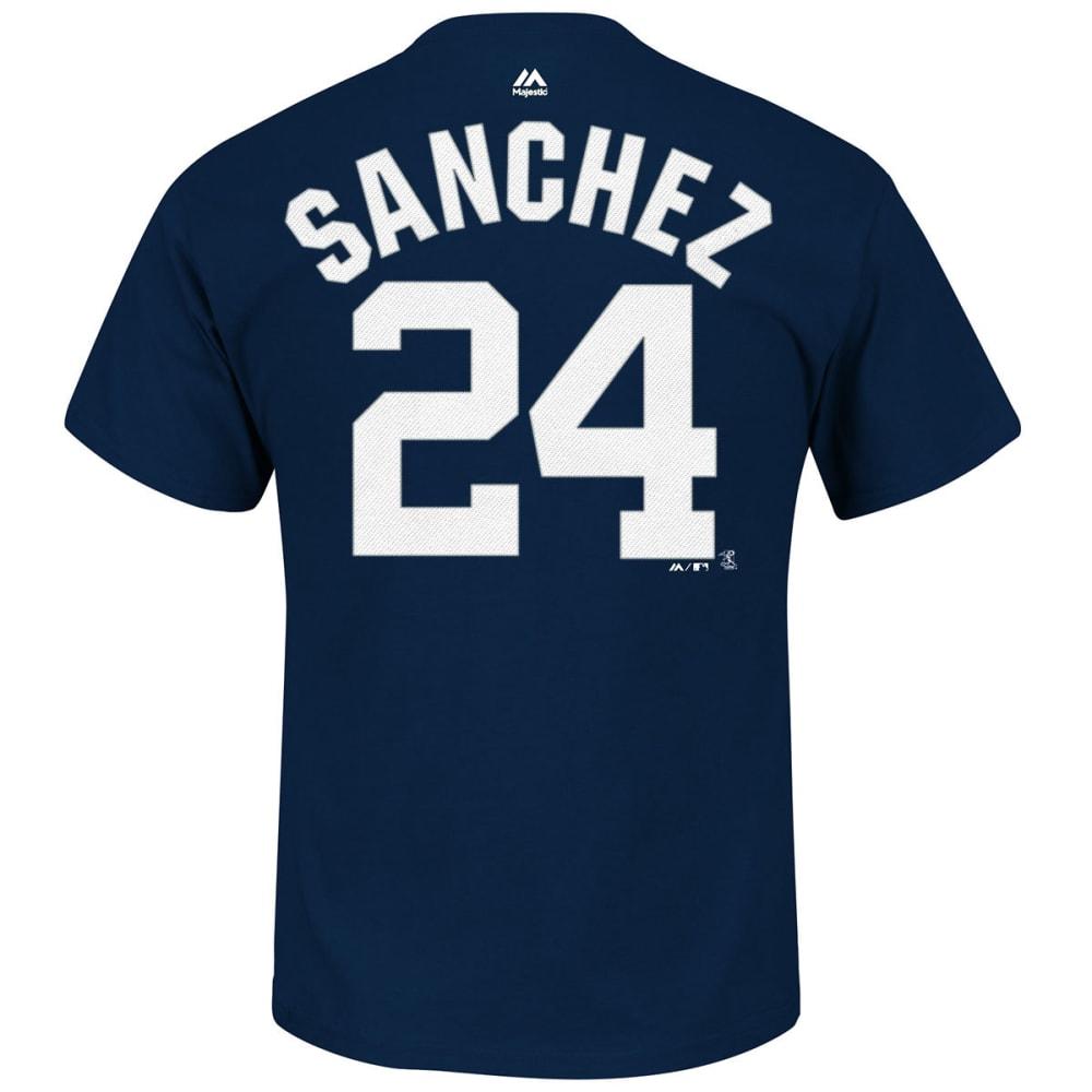 NEW YORK YANKEES Men's Sanchez #24 Short Sleeve Tee - NAVY