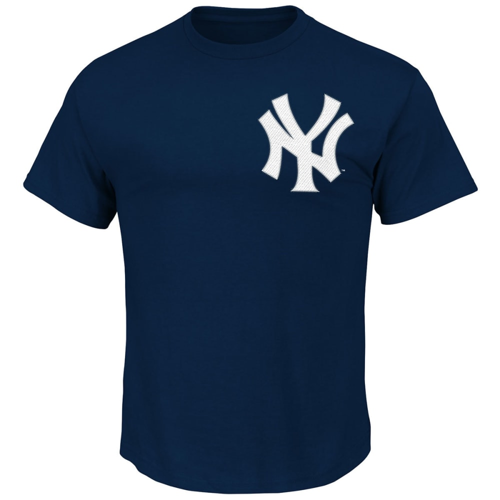NEW YORK YANKEES Men's Chapman #54 Short Sleeve Tee - NAVY