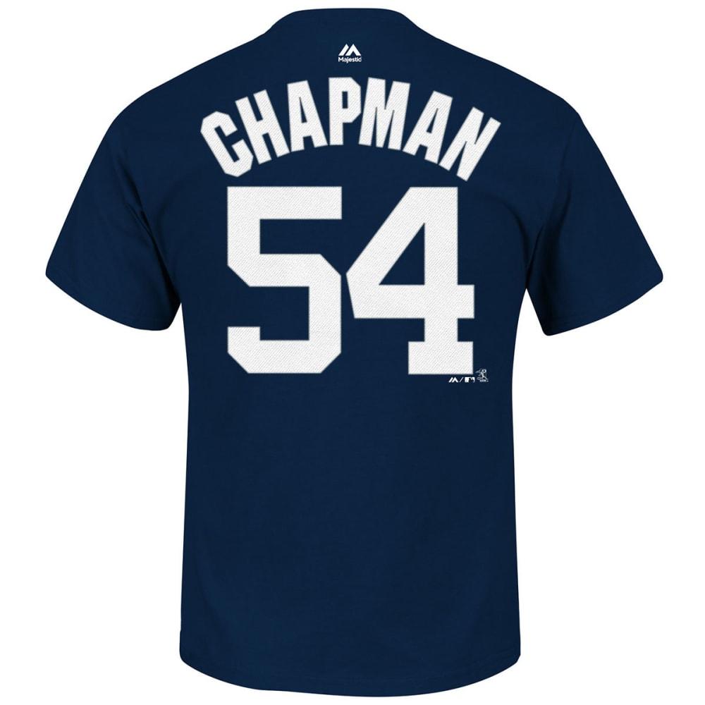 NEW YORK YANKEES Men's Chapman #54 Short Sleeve Tee - NAVY
