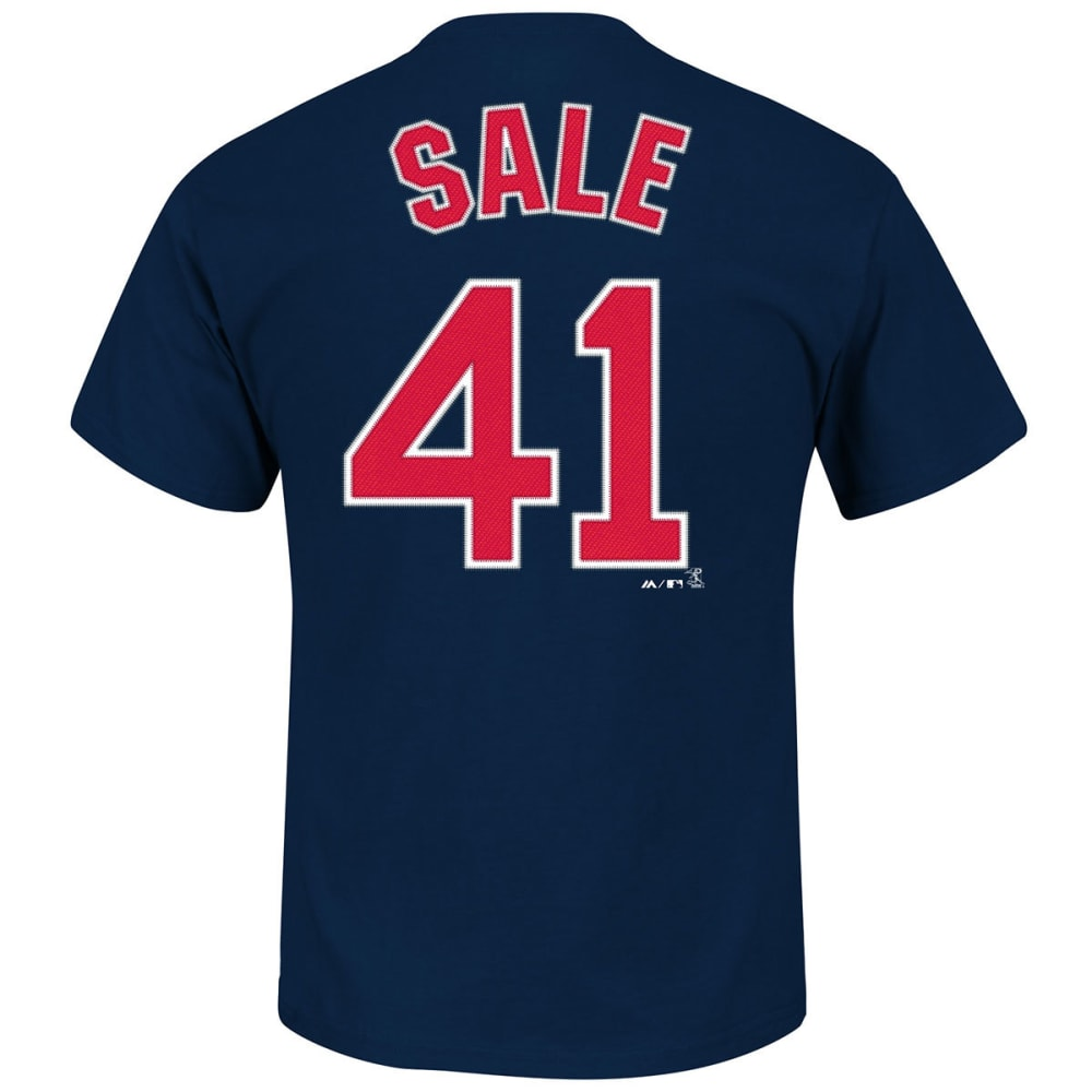 BOSTON RED SOX Men's Chris Sale #41 Short Sleeve Tee - NAVY