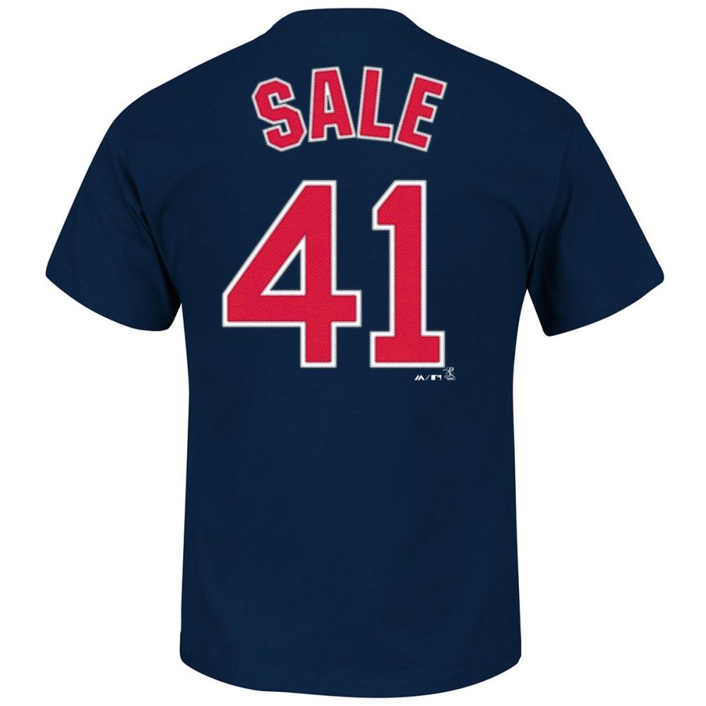 BOSTON RED SOX Men's Chris Sale #41 Short Sleeve Tee - NAVY