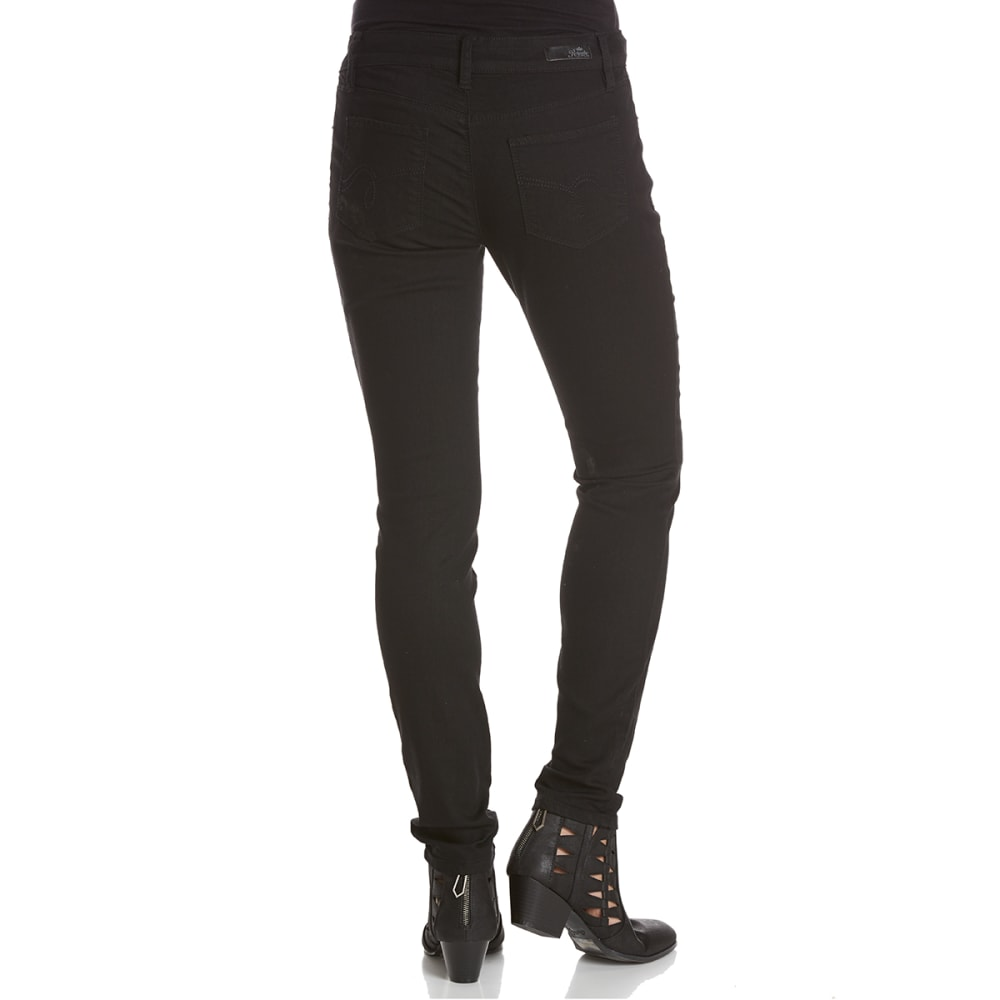 ROYALTY Women's Basic Super Soft Skinny Jeans - W67-BLACK