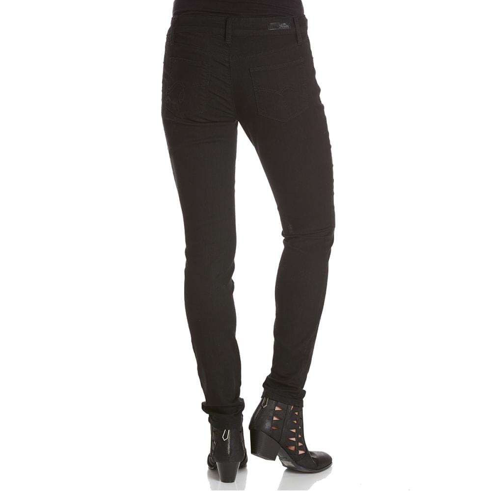 ROYALTY Women's Basic Super Soft Skinny Jeans - W67-BLACK