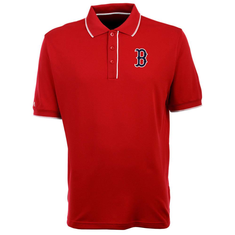 BOSTON RED SOX Men's Elite Polo B Logo Short-Sleeve Shirt - RED