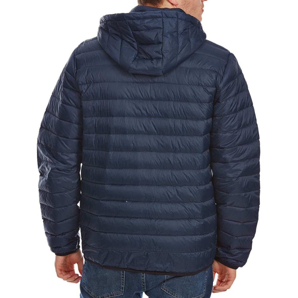 FREE COUNTRY Men's Down Hooded Jacket - DK NVY