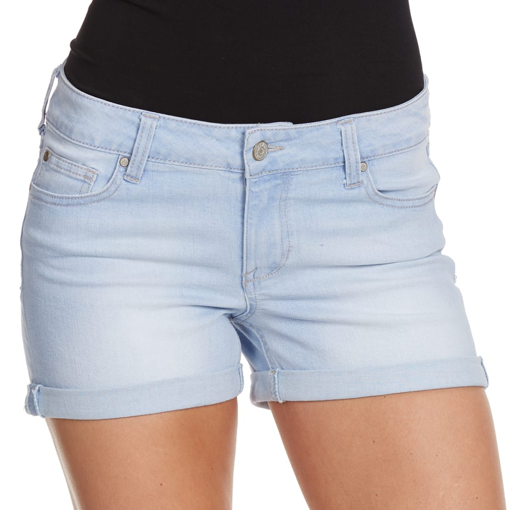 CELEBRITY PINK Juniors' Cuff Shorts - TOULOUSE