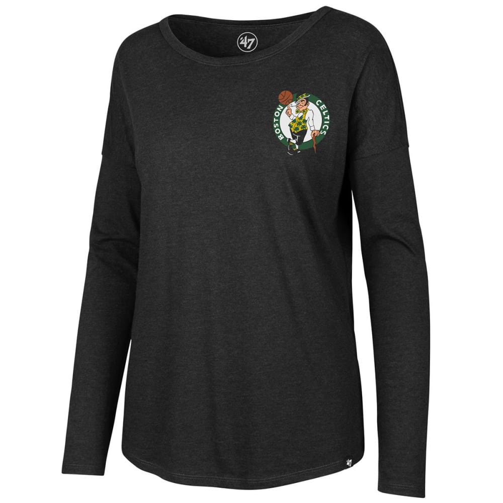 Boston Celtics Women's 47 Club Courtside Long Sleeve Tee - Black, M