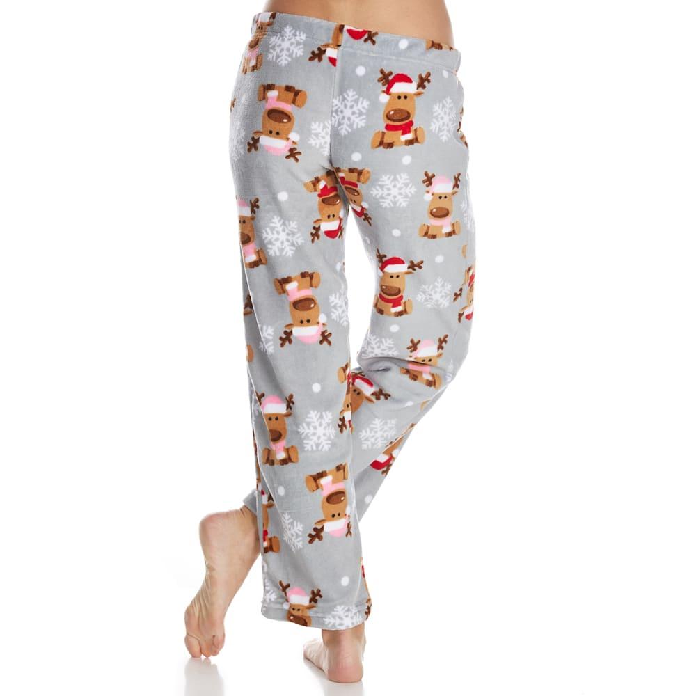 SLEEP & CO. Women's Reindeer Plush Sleep Pants - REINDEER