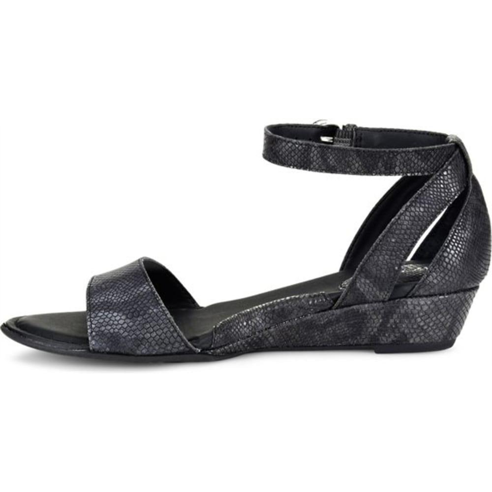 BOC Women's Pfeiffer Wedge Sandals, Black - BLACK