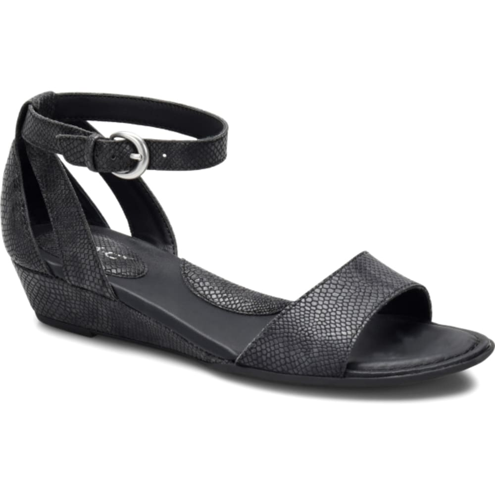 BOC Women's Pfeiffer Wedge Sandals, Black - BLACK