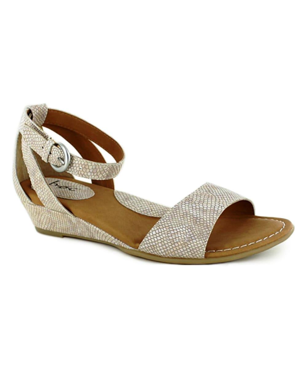 BOC Women's Pfeiffer Wedge Sandals, Cream - CREAM