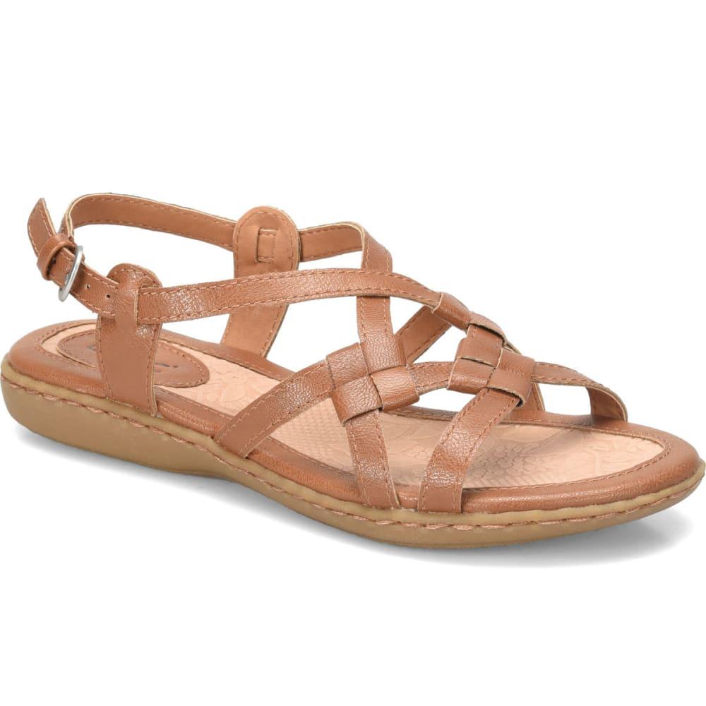 BOC Women's Kesia Sandals, Brown, Wide - LIGHT BROWN