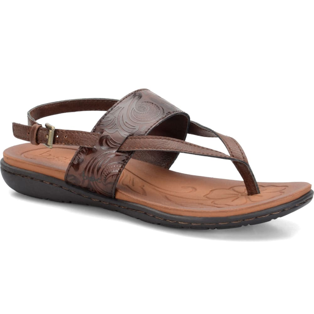 BOC Women's Reagan Tooled Slingback Sandals, Coffee - COFFEE