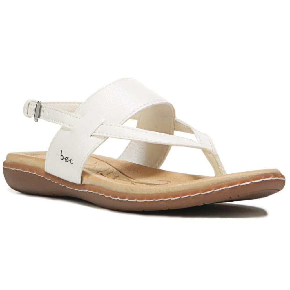BOC Women's Reagan Slingback Sandals, White - WHITE