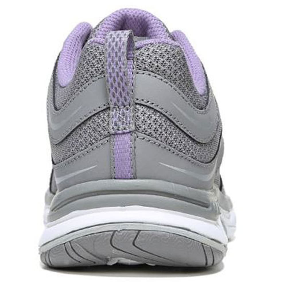 RYKA Women's Shift Walking Shoes, Gray/Purple, Wide - GREY