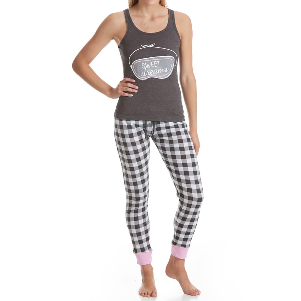 SLEEP & CO. Women's Sweet Dreams Tank Sleep Set - SWEET DREAMS