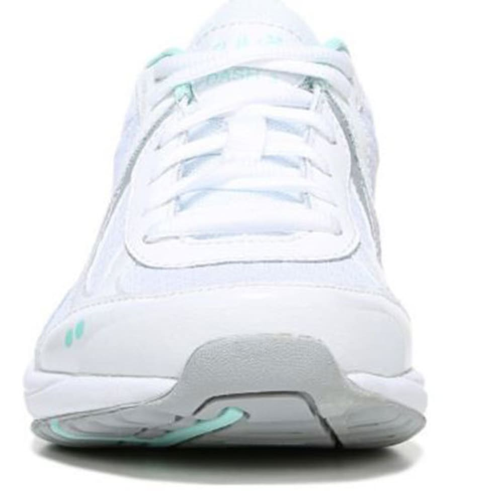 RYKA Women's Dash 3 Walking Shoes, White/Mint - WHITE - 1100 MED