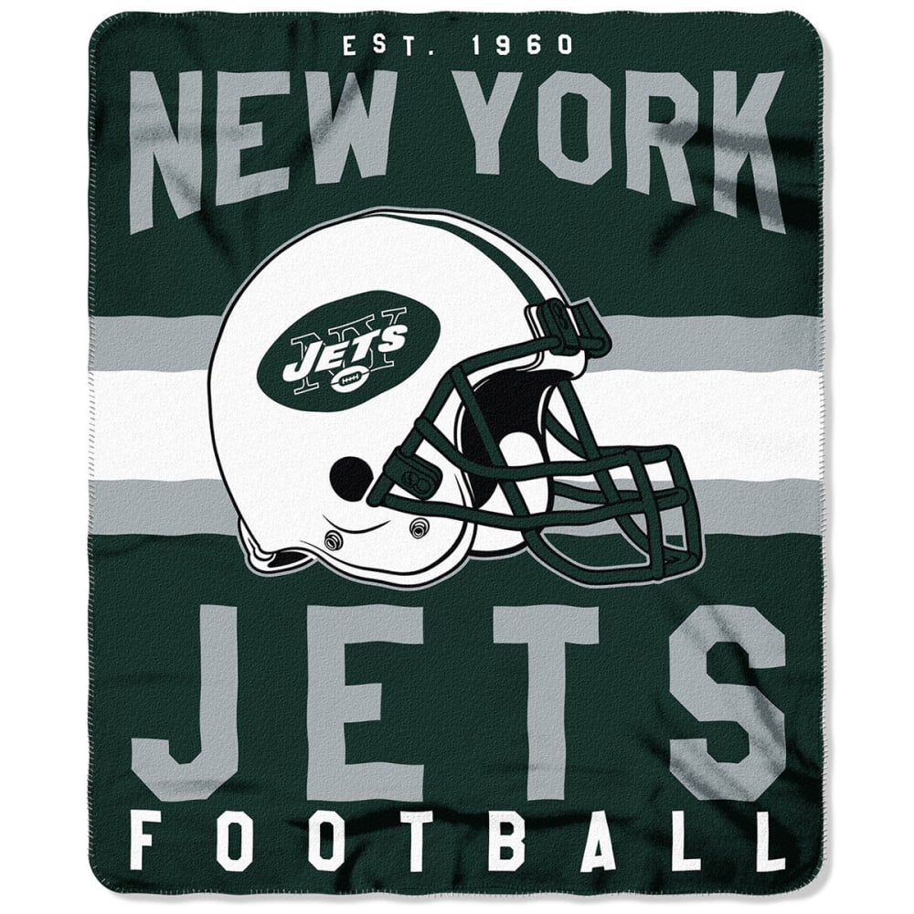 NEW YORK JETS Fleece Throw - GREEN