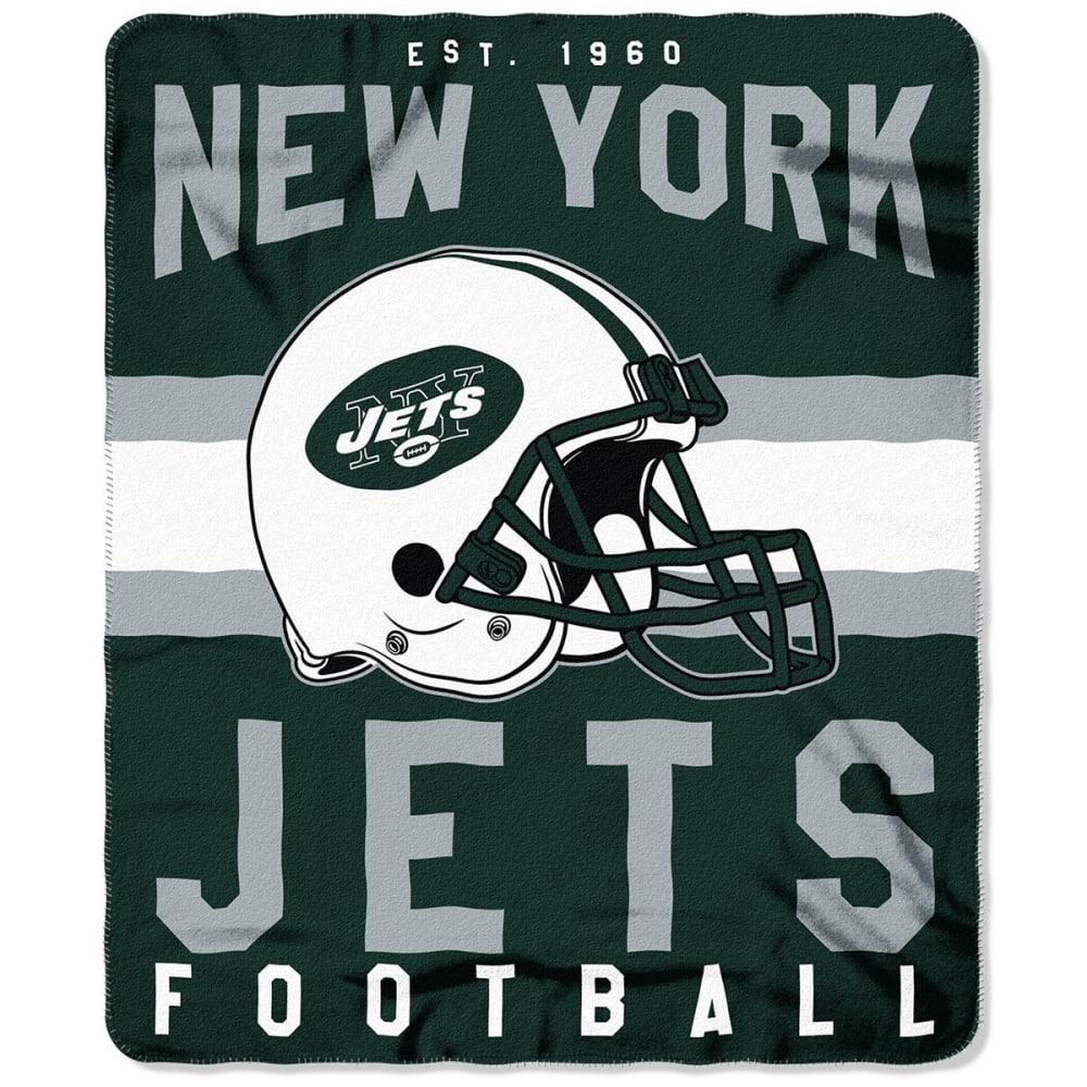 NEW YORK JETS Fleece Throw - GREEN