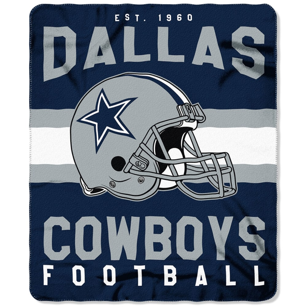 DALLAS COWBOYS Fleece Throw - NAVY