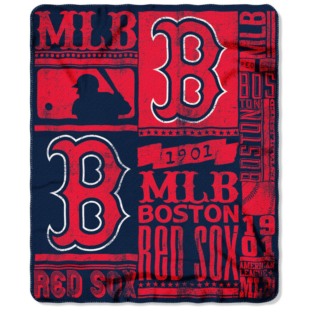 BOSTON RED SOX Fleece Throw - NAVY