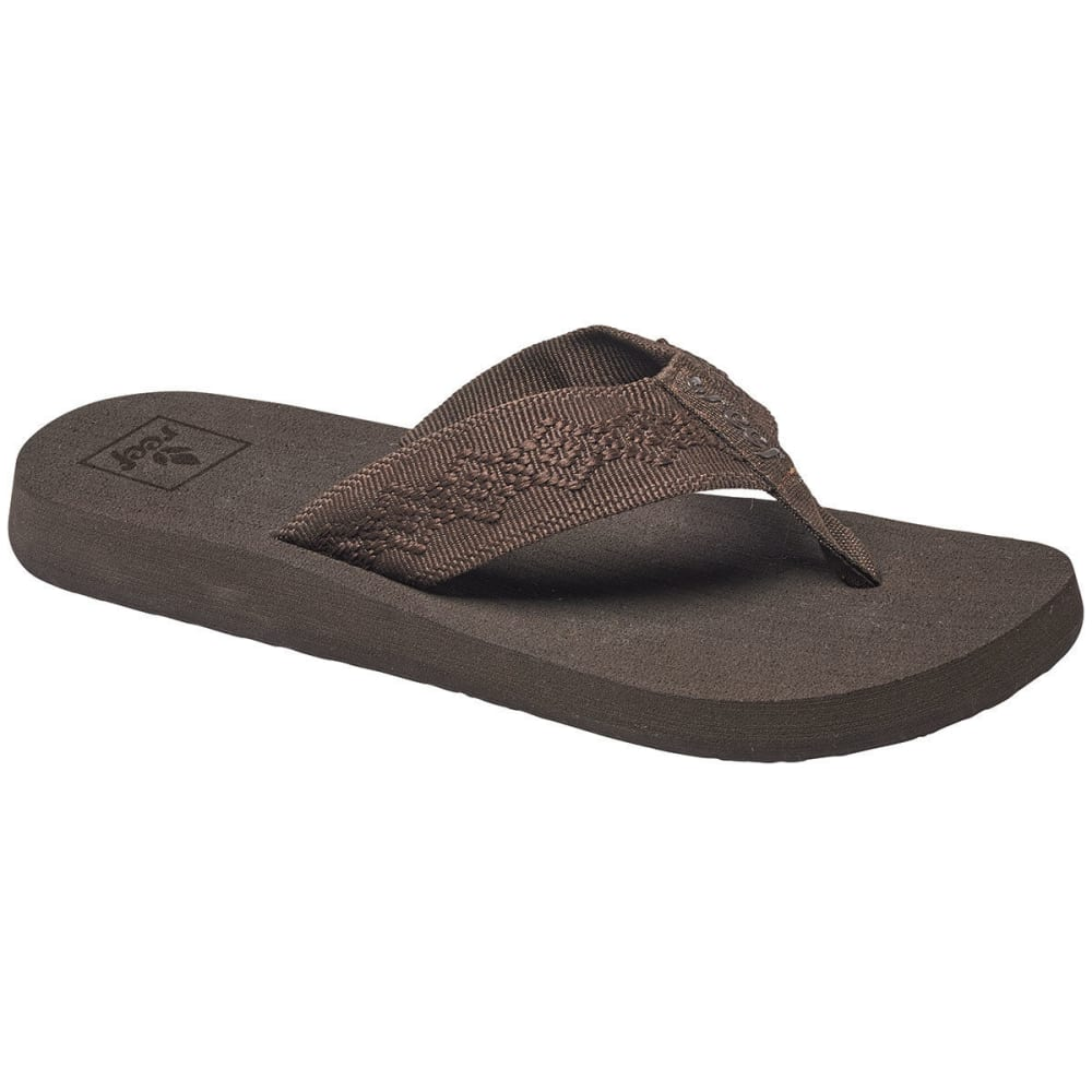 REEF Women's Sandy Flip Flops, Brown - BROWN