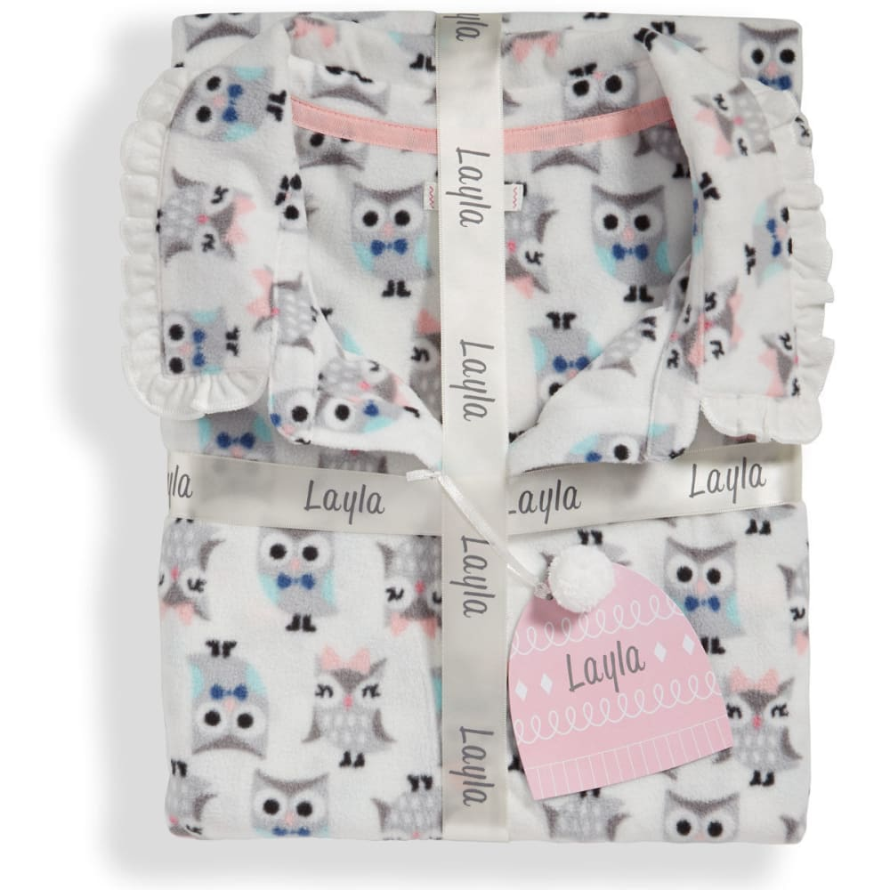 LAYLA Women's Notch Collar Pajama Set - OWLS-281