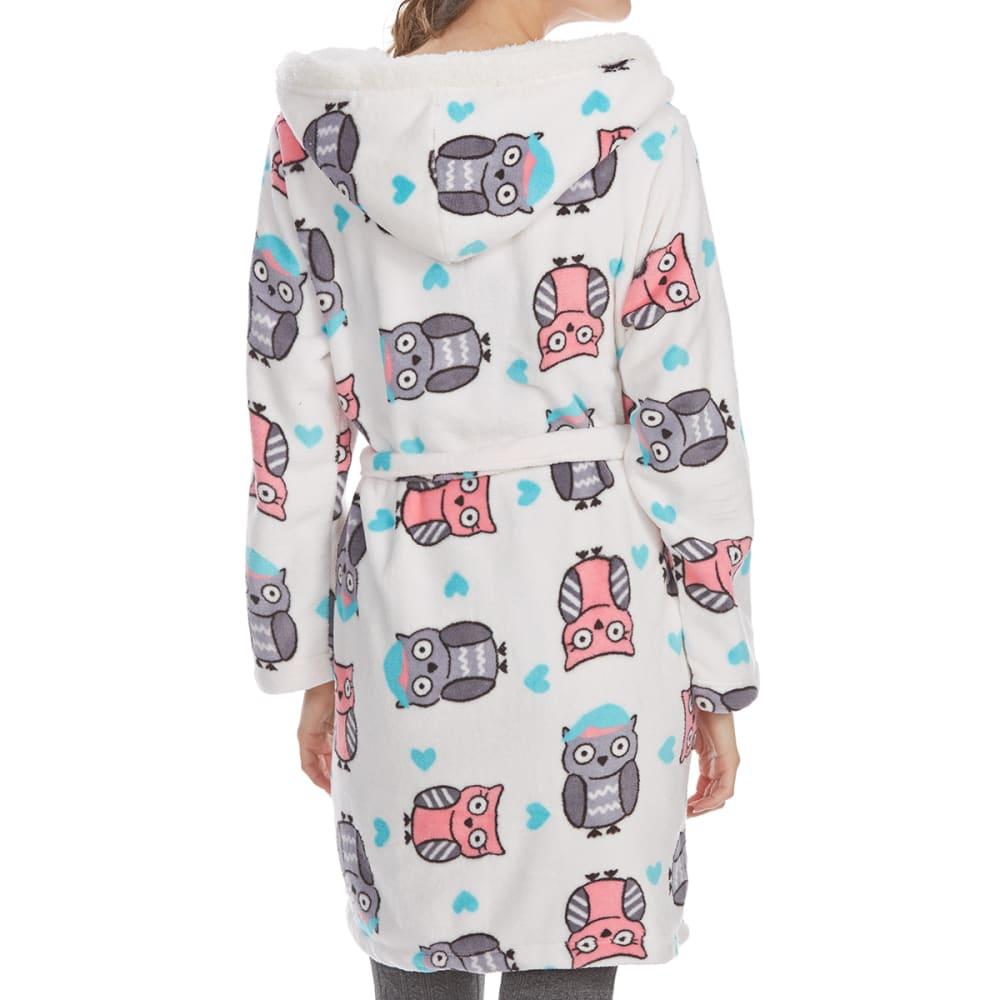 ST. EVE Women's Hooded Robe - OWLS-112