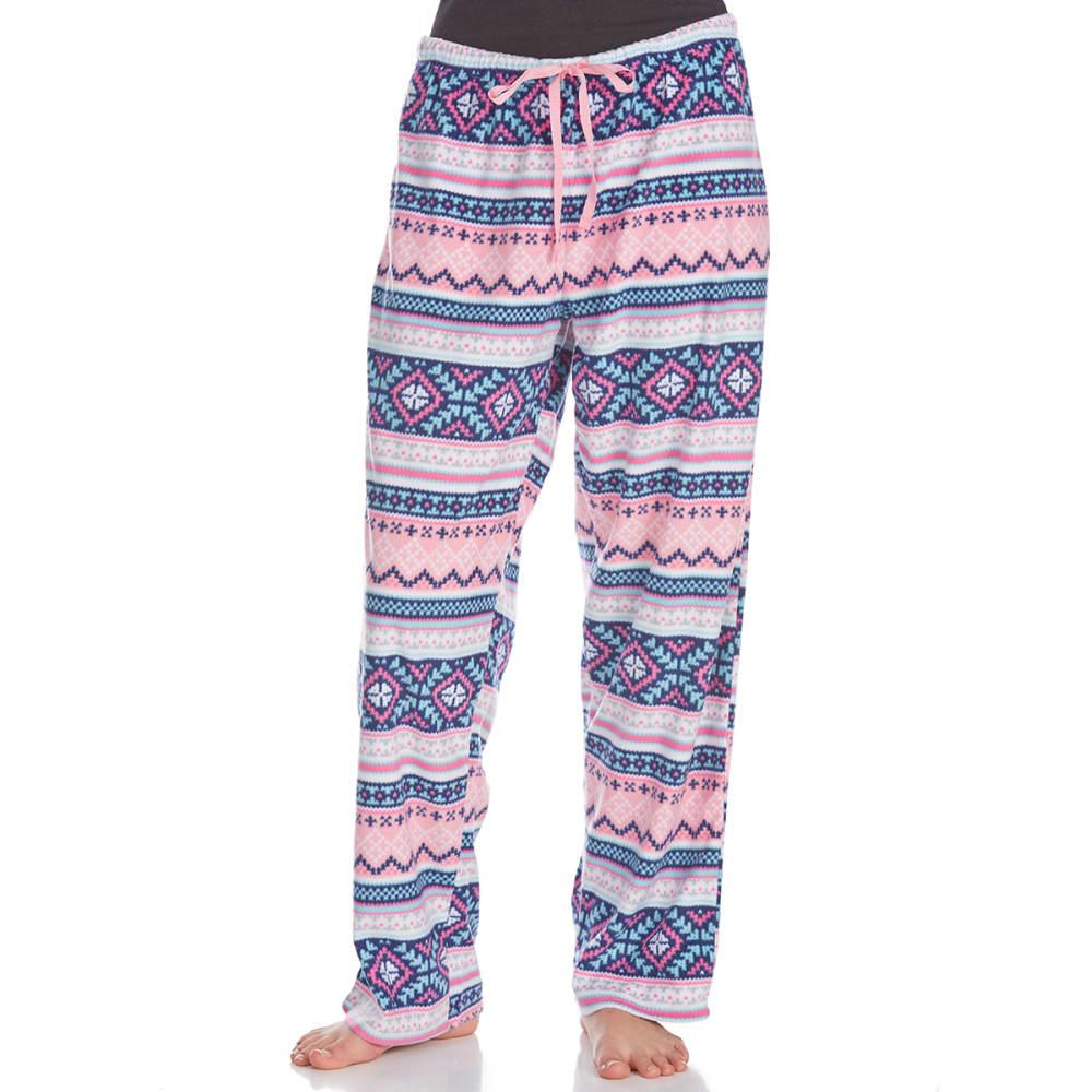 ST. EVE Women's Microfleece Sleep Pants - FAIRISLE-682