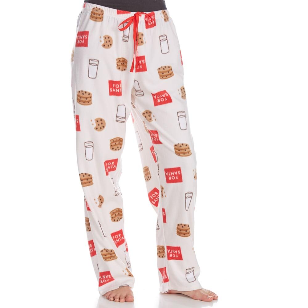 ST. EVE Women's Microfleece Sleep Pants - CANDY-257