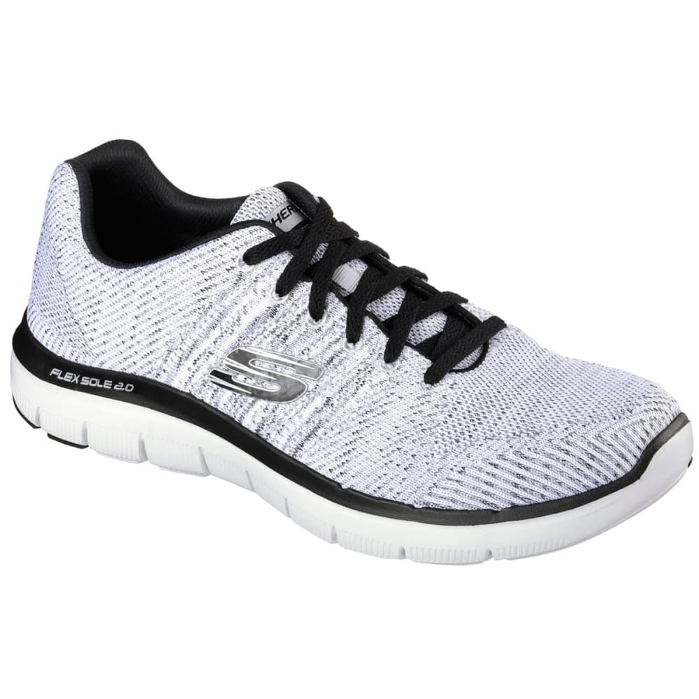 SKECHERS Men's Flex Advantage 2.0- Missing Link - WHITE