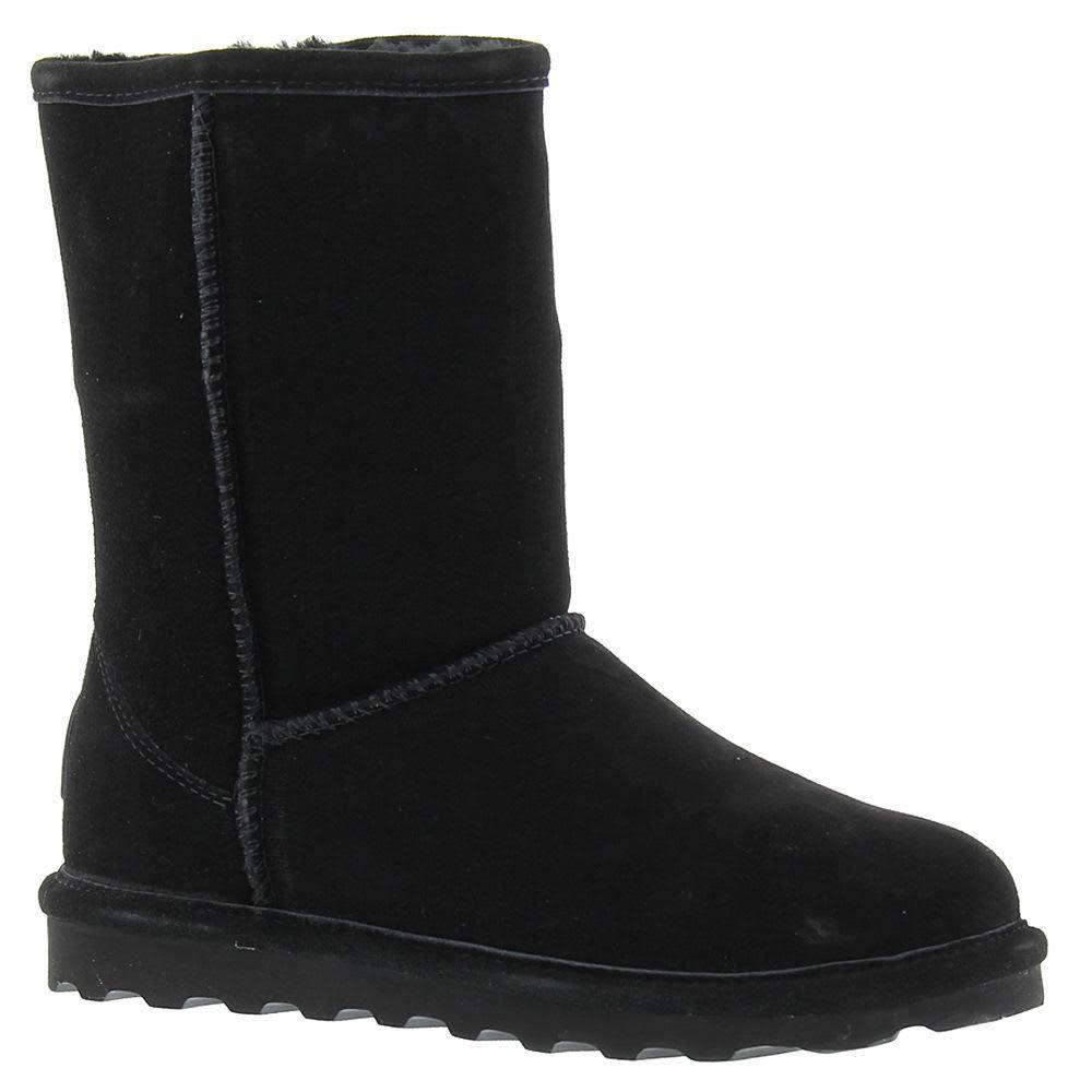 BEARPAW Women's Elle Short Boots, Black - BLACK